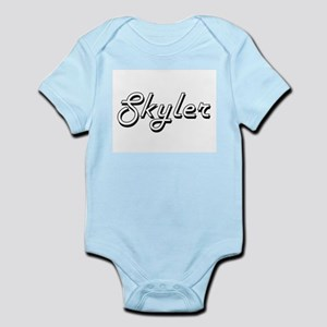 Skyler Classic Style Name Body Suit
