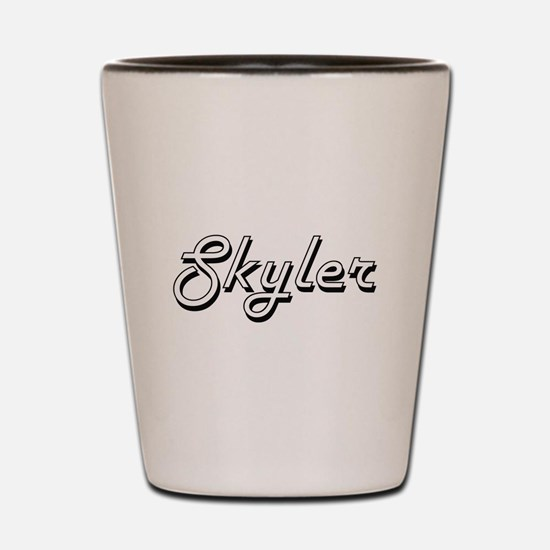 Skyler Classic Style Name Shot Glass