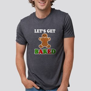 Let's Get Baked funny gingerbread christma T-Shirt