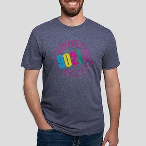 Beverly Hills 90210 Logo Mens Tri-blend T-Shirt