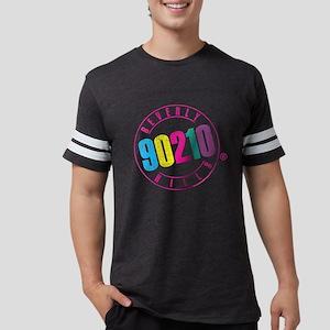 Beverly Hills 90210 Logo Mens Football Shirt