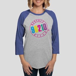 Beverly Hills 90210 Logo Womens Baseball Tee