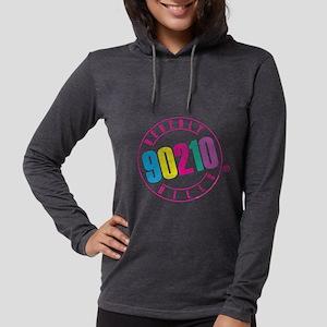 Beverly Hills 90210 Logo Womens Hooded Shirt