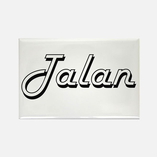 Talan Classic Style Name Magnets
