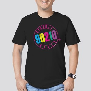 Beverly Hills 90210 Lo Men's Fitted T-Shirt (dark)
