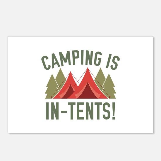 Camping Is In-Tents! Postcards (Package of 8)