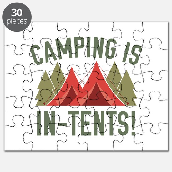 Camping Is In-Tents! Puzzle
