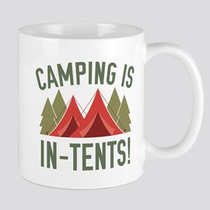 Camping Is In-Tents! Mug
