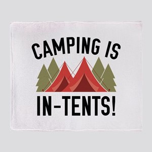 Camping Is In-Tents! Stadium Blanket