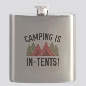 Camping Is In-Tents! Flask