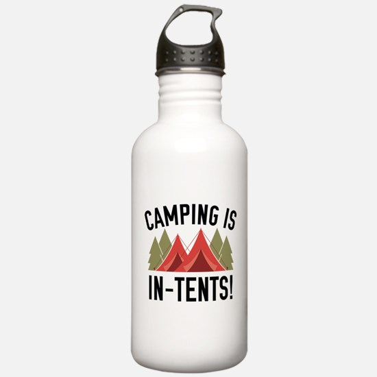 Camping Is In-Tents! Water Bottle