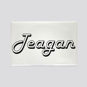 Teagan Classic Style Name Magnets