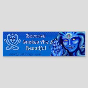 Blue Gorgon Logo Bumper Sticker