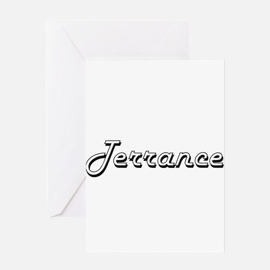 Terrance Classic Style Name Greeting Cards