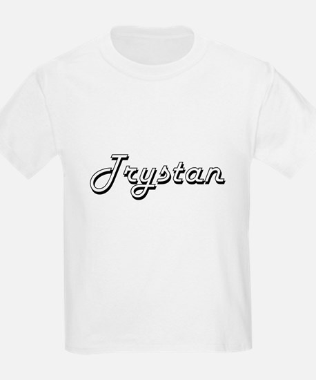 Trystan Classic Style Name T-Shirt