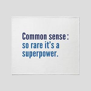 Common Sense Stadium Blanket