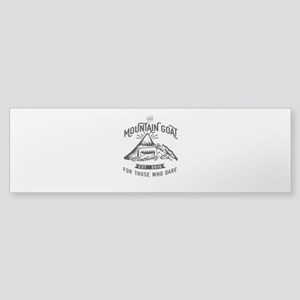 The Mountain Goat Clothing Company. Bumper Sticker