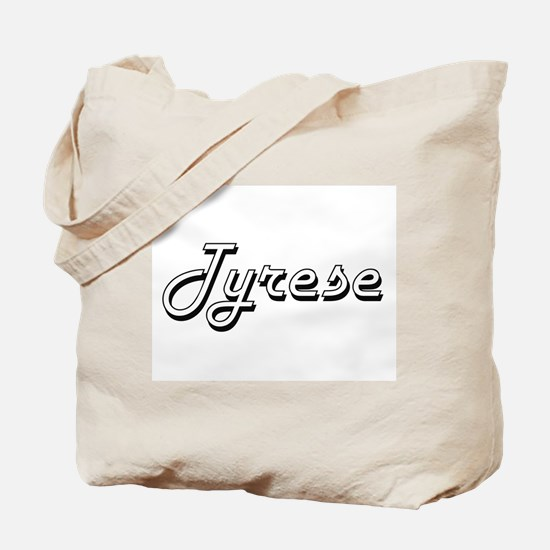 Tyrese Classic Style Name Tote Bag