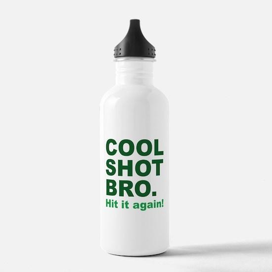 Cool Shot Bro Sports Water Bottle