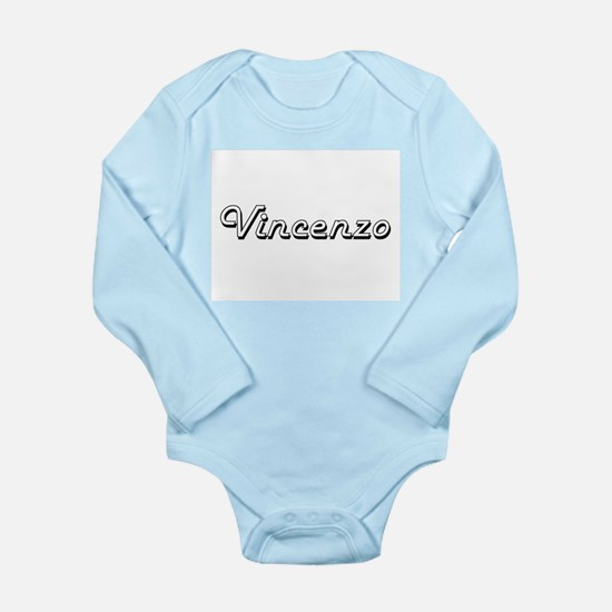 Vincenzo Classic Style Name Body Suit