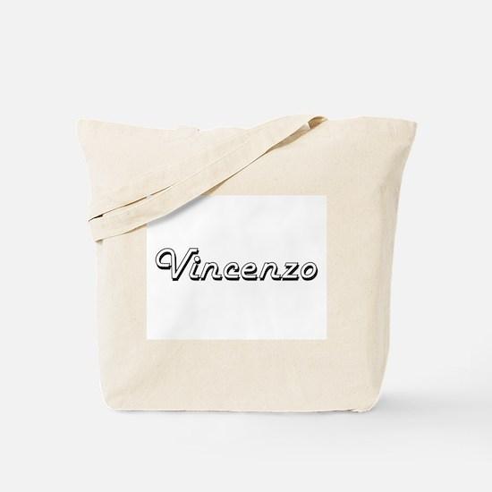 Vincenzo Classic Style Name Tote Bag
