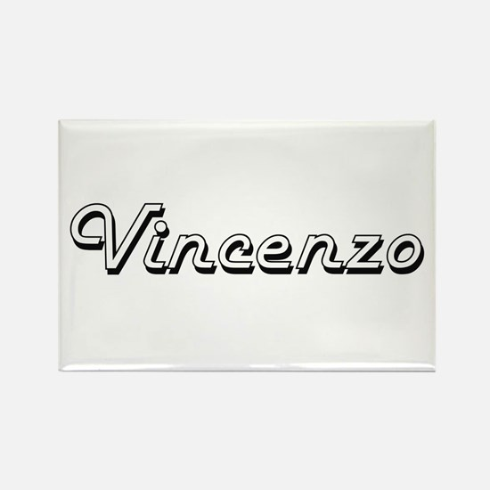 Vincenzo Classic Style Name Magnets