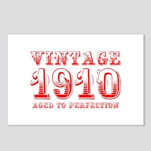 VINTAGE 1910 aged to perfection-red 400 Postcards