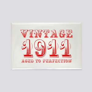 VINTAGE 1911 aged to perfection-red 400 Magnets