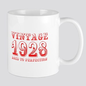VINTAGE 1928 aged to perfection-red 400 Mugs