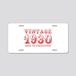 VINTAGE 1930 aged to perfection-red 400 Aluminum L