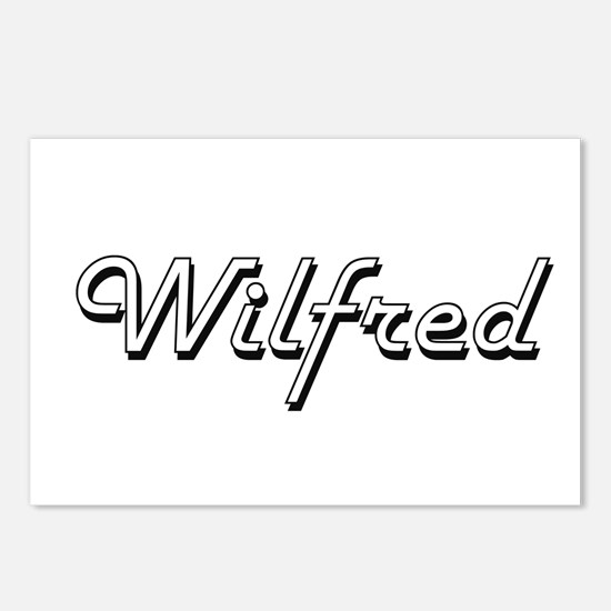Wilfred Classic Style Nam Postcards (Package of 8)