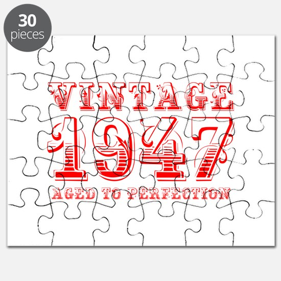 VINTAGE 1947 aged to perfection-red 400 Puzzle