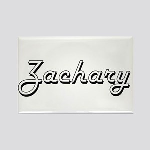 Zachary Classic Style Name Magnets