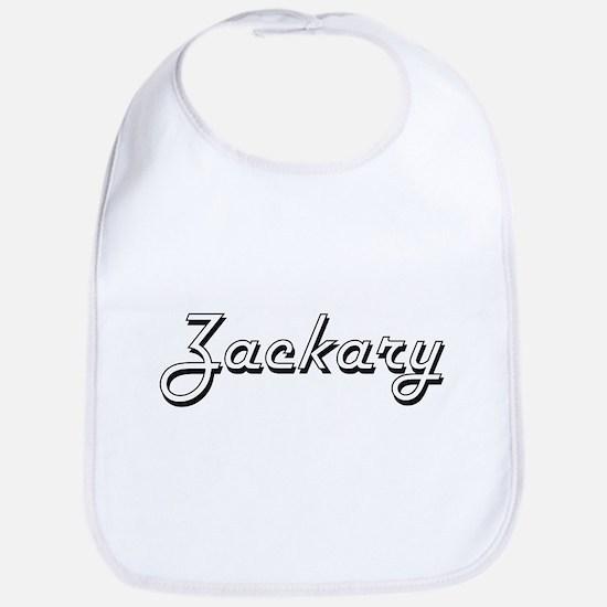 Zackary Classic Style Name Bib
