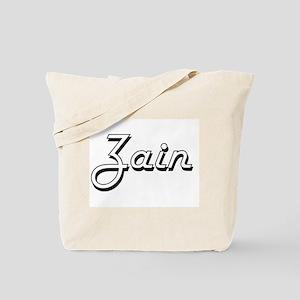 Zain Classic Style Name Tote Bag