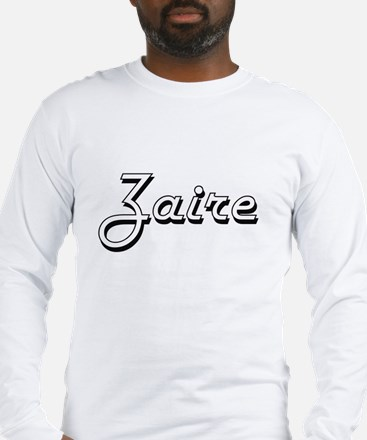 Zaire Classic Style Name Long Sleeve T-Shirt