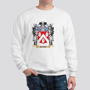 Byrne Coat of Arms - Family Crest Sweatshirt