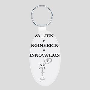 Women + Engineering Keychains