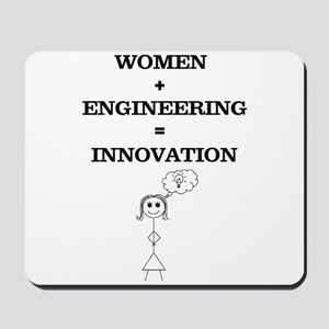 Women + Engineering Mousepad