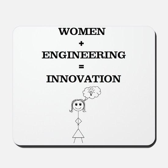 Women + Engineering Mousepad