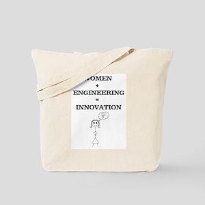 Women + Engineering Tote Bag
