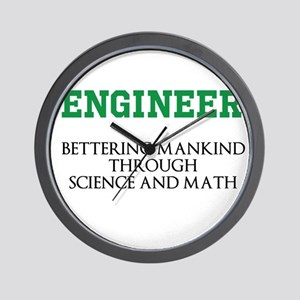 Bettering Mankind Wall Clock