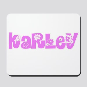 Karley Flower Design Mousepad