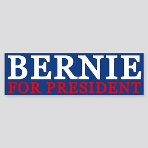 Bernie For President Bumper Sticker