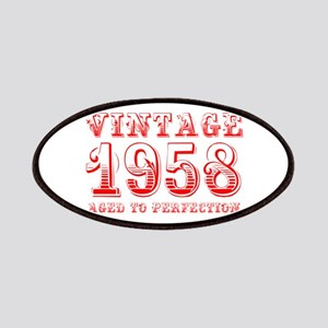 VINTAGE 1958 aged to perfection-red 400 Patch