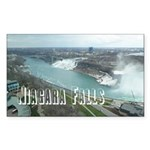 Niagara Falls Sticker (Rectangle 10 pk)