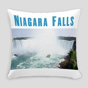 Niagara Falls Everyday Pillow