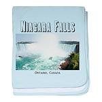 Niagara Falls baby blanket