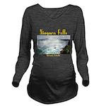Niagara Falls Long Sleeve Maternity T-Shirt