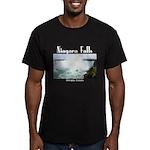 Niagara Falls Men's Fitted T-Shirt (dark)